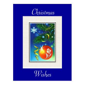 Christmas Post Card Postcard