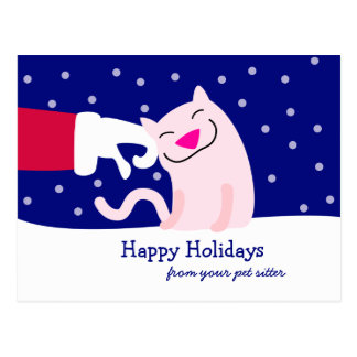 Christmas Postcard from Pet Care Professional