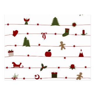 Christmas postcard! postcard
