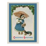 Christmas Postcard:  Vintage Christmas Postcard