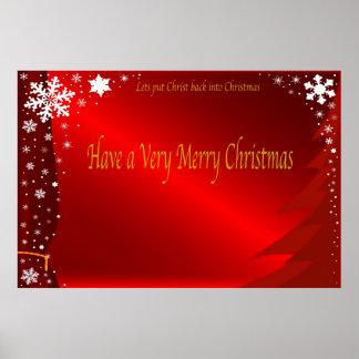 Christmas Poster. Poster