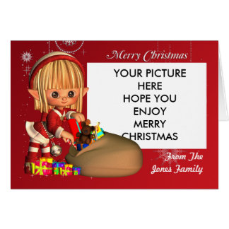 Christmas Poto Card for you to Customise