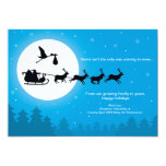 Christmas Pregnancy Announcement Cards 5x7-Coming