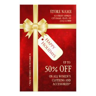 Christmas Present Holiday Sale flyer