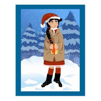 Christmas Present Postcard