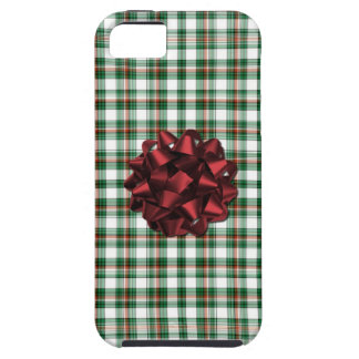 Christmas present red Bow Case For The iPhone 5
