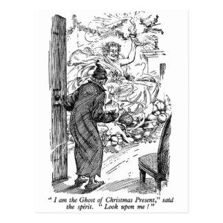 Christmas Present (with text) Postcard