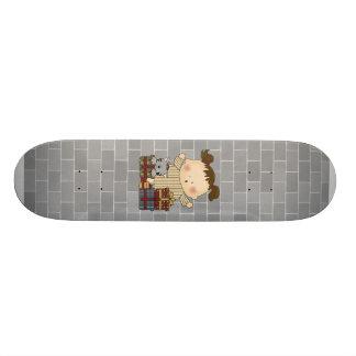 christmas presents girl tot custom skateboard