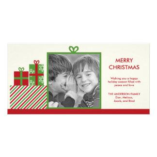 Christmas Presents Holiday Photo Card