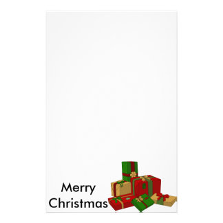 Christmas Presents Personalized Stationery