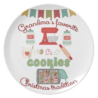 Christmas Products - Grandma's Favorite Christmas Plate