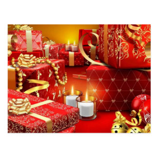 Christmas Products Postcard