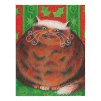 Christmas Pud postcard