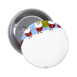 christmas pudding and santas.JPG Pins