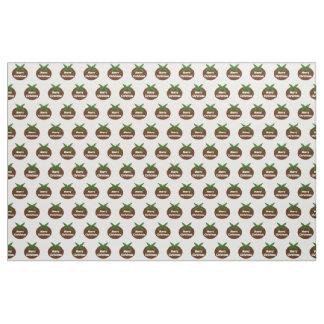 Christmas Pudding Custom Craft Fabric