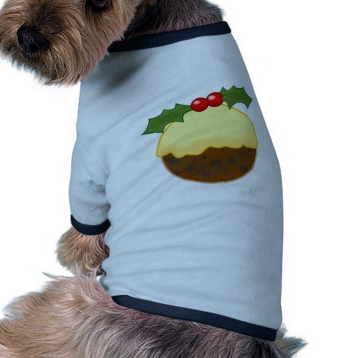 Christmas Pudding Doggie T-shirt