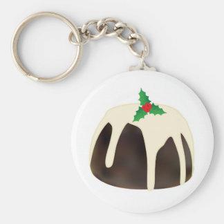 Christmas Pudding Key Ring