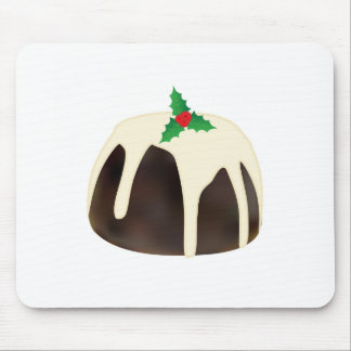 Christmas Pudding Mouse Pad