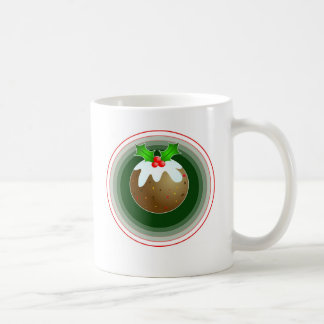 Christmas Pudding Coffee Mugs