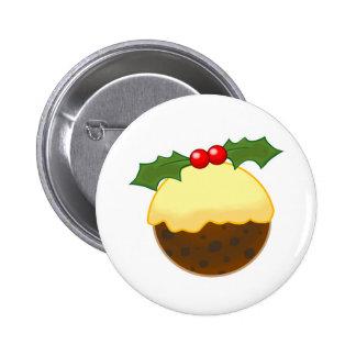 Christmas Pudding Pins