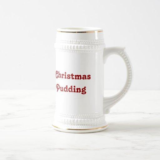 Christmas Pudding -- Traditional English Pudding Coffee Mugs