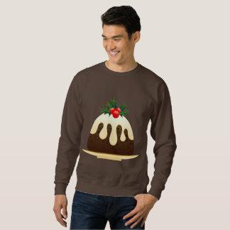christmas puddings mens sweatshirt
