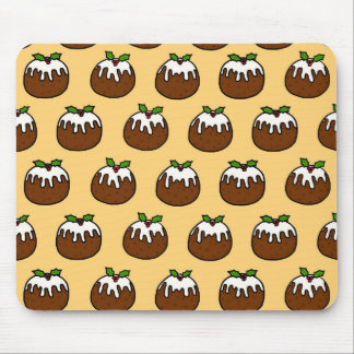 Christmas Puddings Mouse Pad