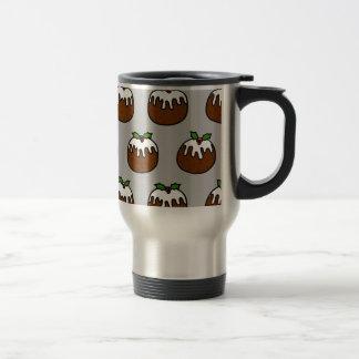 Christmas Puddings Travel Mug