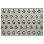 Christmas pug dog fabric