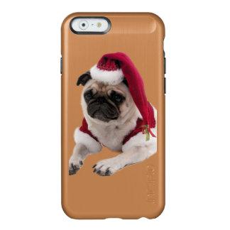 Christmas pug - santa claus dog - dog claus incipio feather® shine iPhone 6 case