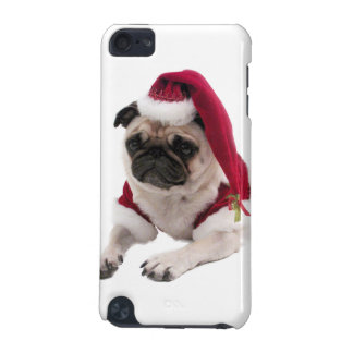 Christmas pug - santa claus dog - dog claus iPod touch (5th generation) cover
