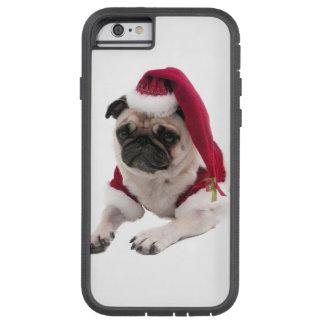 Christmas pug - santa claus dog - dog claus tough xtreme iPhone 6 case