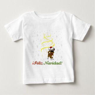 Christmas Pups Baby T-Shirt