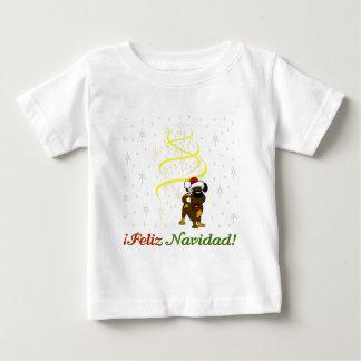 Christmas Pups Baby T-Shirt