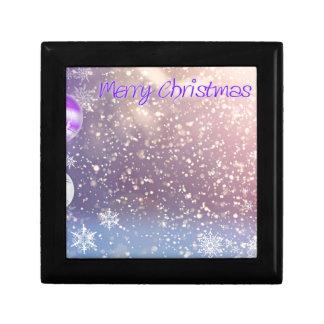 Christmas-Purple Gift Box
