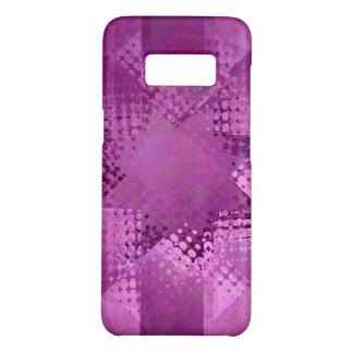 Christmas purple halftone star Case-Mate samsung galaxy s8 case