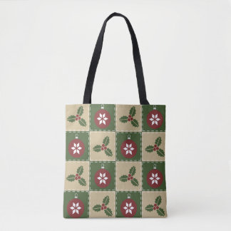 Christmas Quilt All-Over-Print Bag