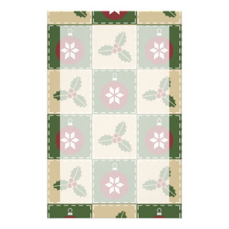 Christmas Quilt Stationery