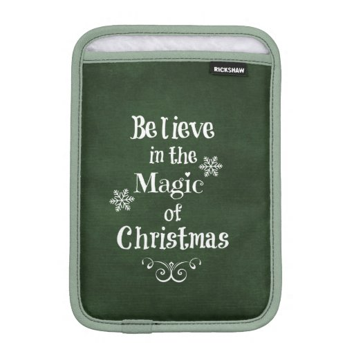 Christmas Quote iPad Mini Sleeve