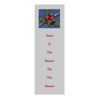 CHRISTMAS RACK CARDS: CHURCH INVITATIONS PACK OF SKINNY BUSINESS CARDS