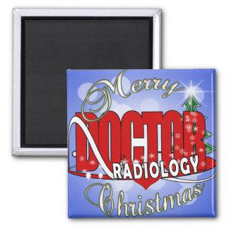 CHRISTMAS RADIOLOGY DOCTOR FRIDGE MAGNET