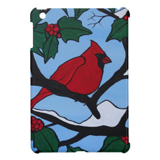 Christmas Red Cardinal Cover For The iPad Mini