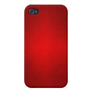 Christmas Red Crimson Parchment Gradient Template Covers For iPhone 4