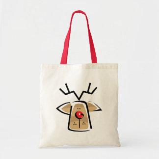 Christmas Reindeer Gift Tote Bag