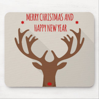 Christmas reindeer hip cool elk modern mouse pad