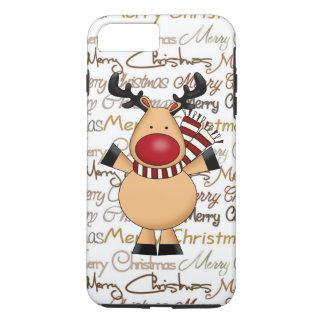 Christmas Reindeer iPhone 7 plus tough case