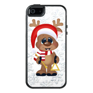 Christmas reindeer iPhone SE 5/5s case