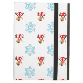Christmas Reindeer Pattern Case For iPad Air
