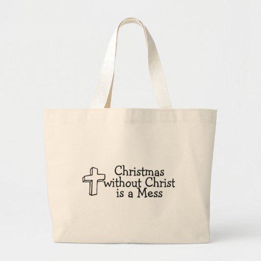 Christmas Religious Canvas Bag