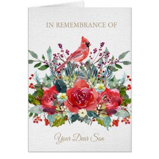 Christmas Remembrance Card | Dear Son